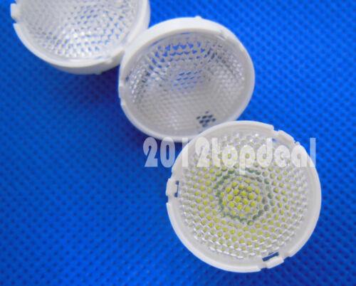 10pcs 60 Degree 21mm Reflector Collimator LED Lens For Cree T6 U2 XML XM-L LED