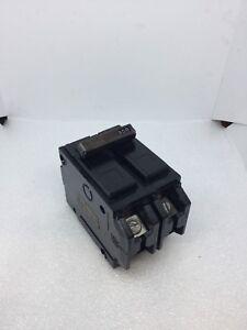 used GE THQL21100 100A 2 Pole 1 120//240v Circuit Breaker