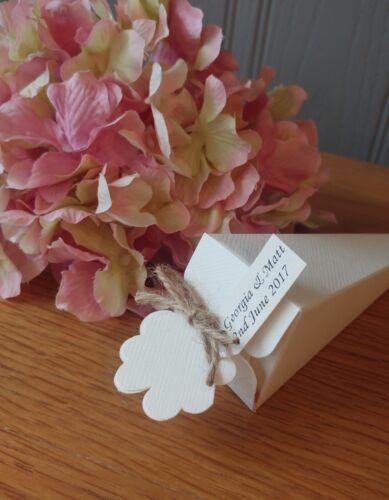 40 confetti cones natural biodegradable rose petal bark bowl heart chalkboard