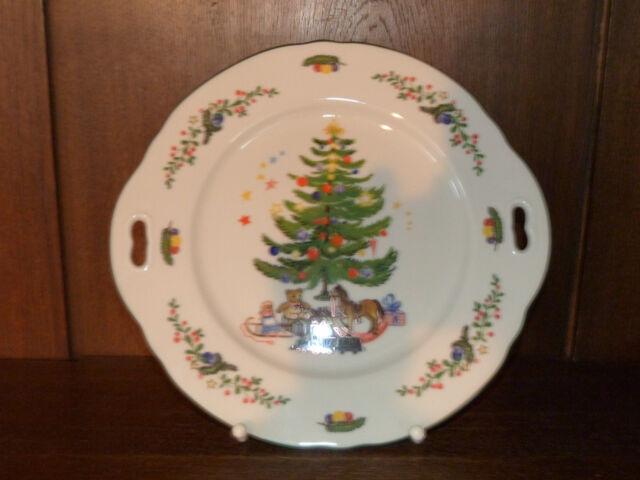 Marie-Luise Frühstücksteller 20 cm Weihnachten