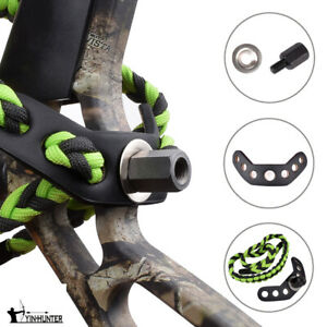Wrist-Sling-Strap-Braid-for-Archery-Compound-Bow-Hunting-Outdoor-Green-Color-1X