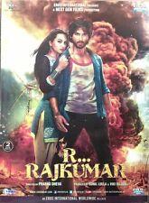 R Rajkumar (2013) Official Bollywood Movie 2-Disc Edition DVD ALL/0 Subtitles