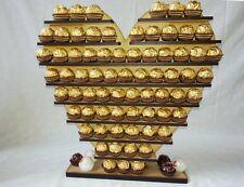 Corazón Ferrero Rocher Pantalla Soporte Pirámide árbol tiene 140,