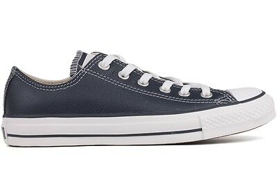 Converse CT AS OX Athletic Navy 135254C New Men Women Unisex Leather Casual Shoe