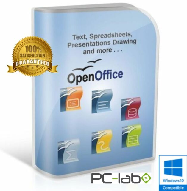 open office 2018 pro edition word processor microsoft windows digital download