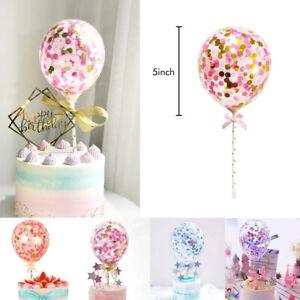 Confetti Latex Balloon Birthday Party Wedding Cake Decor Balloon 5 inch 10pc//Set