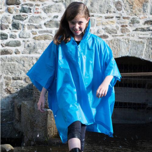Splashmacs enfants garçons filles pluie Poncho Randonnée Camping Festival SC019