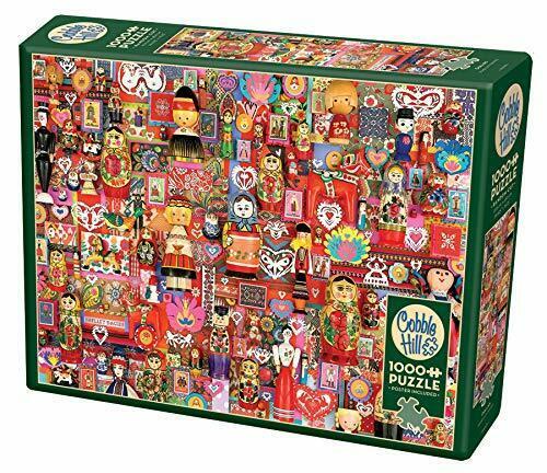 Cobble Hill Puzzles Dollies 1000 Piece Cultural Jigsaw Puzzle
