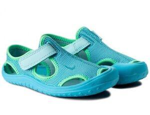 Caricamento dell immagine in corso Nike-Sunray-Protect-Sandali-PS -903633-400-Blu- 5535adab481d