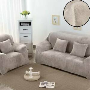 4-seat-Plush-Velvet-Sofa-Slip-covers-Fit-Stretch-Protector-Soft-Couch-Cover
