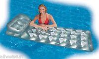Suntanner Pool Beach Float, 18 Pocket 74 X 28 Easy Tan Reflection Durable Wide