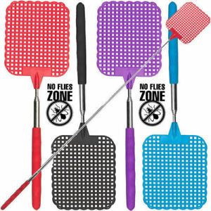 Heavy-Duty-Extendable-Plastic-Fly-Swatter-Bug-Mosquito-Insect-Killer-Telescopic