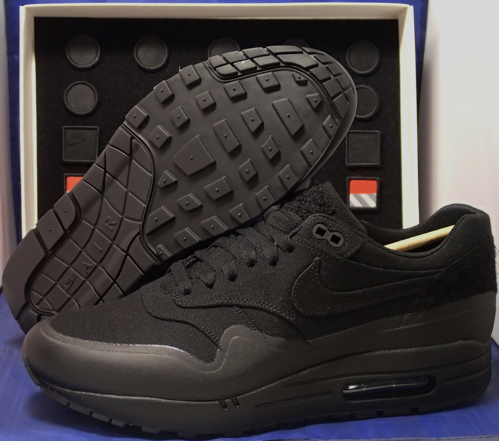 pretty nice f28a5 d9d23 30%OFF Nike Air Max 1 V SP Patch Black NikeLab USA SZ 10.5 (
