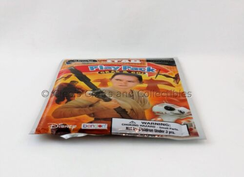 Star Wars Grab /& Go Play Pack BB-8 Rey Finn Stickers Crayons Coloring Book New!