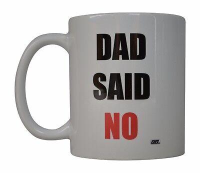 #1 Dad #280 Funny 11oz Black Handle Coffee Mug Father/'s Day Gift Dad Daddy