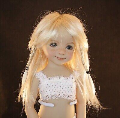 """7-8 6-7 Boneka Little Darling BJD/'S /& Others /""""Ginger/"""" Wig Sizes 5-6"""
