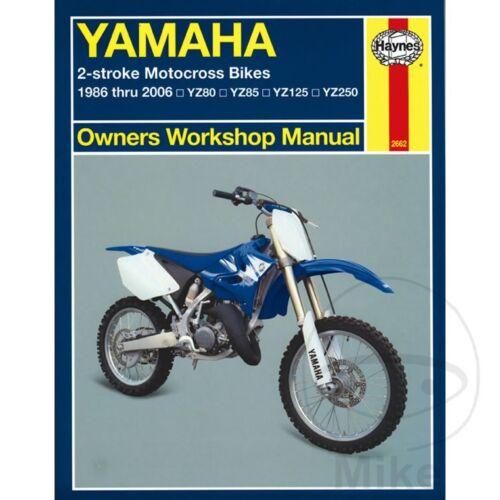 Yamaha YZ 250 2T 1995 Haynes Service Repair Manual 2662