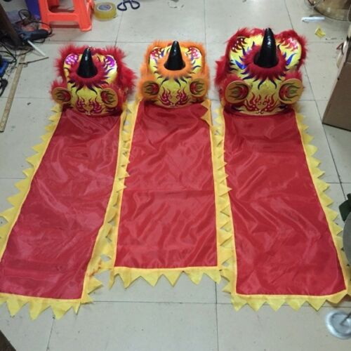 Lion Southern Mascot Dance Wool Costume Kids Gifts Fancy Dress Chinese Folk Art