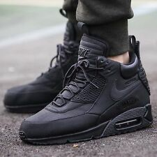 Nike Air Max 90 Sneakerboot Black Grey Waterproof Mens Shoes