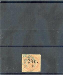 REUNION Sc 4(YT 4)VF USED 1885 25c/40c VERMILION $100