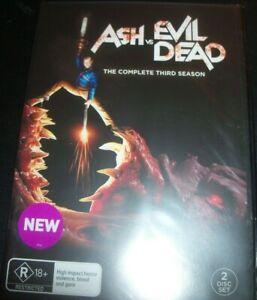 Ash-Vs-Evil-Dead-The-Complete-Third-Season-3-Australia-Region-4-DVD-New