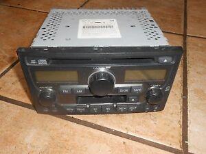 2003 2004 2005 Honda Pilot Am Fm Radio Stereo Cd Tape