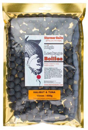 15mm Halibut /& tuna boilies for carp /& coarse all season fishing 100g-25kg