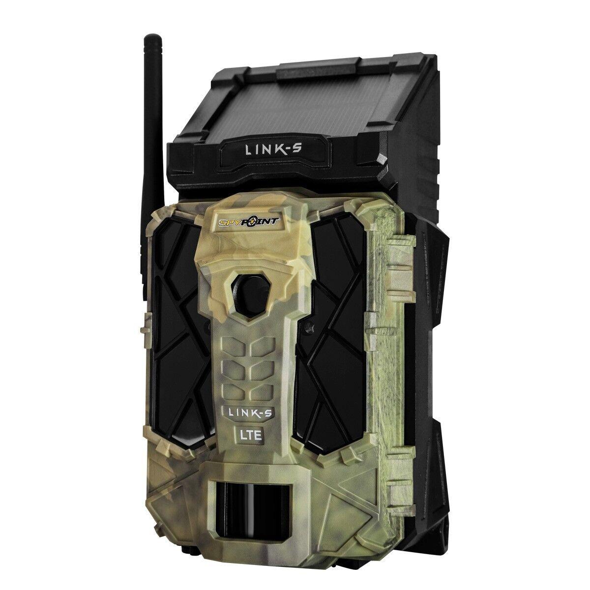 Spypoint Mobile AT&T LTE Celular 12MP Juego Solar de vídeo HD Cámara Trail-link-S