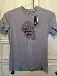 new style c38aa e975d Details about Adidas Originals James Harden Profile Imma Be Short Sleeve  T-Shirt Gray XL 2XL