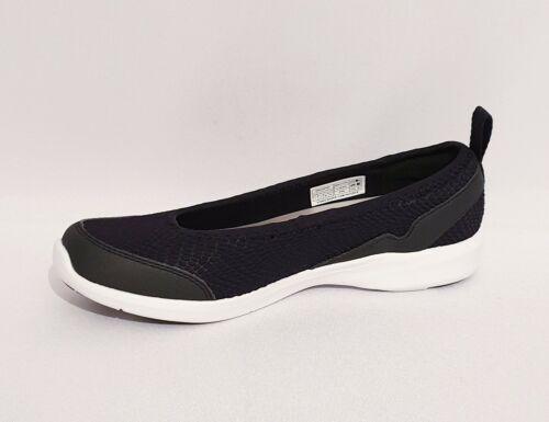 Vionic Sky Sena Negro Ortopédico Bailarinas Bombas De Zapatos Sin taco para mujeres Damas RRP £ 80