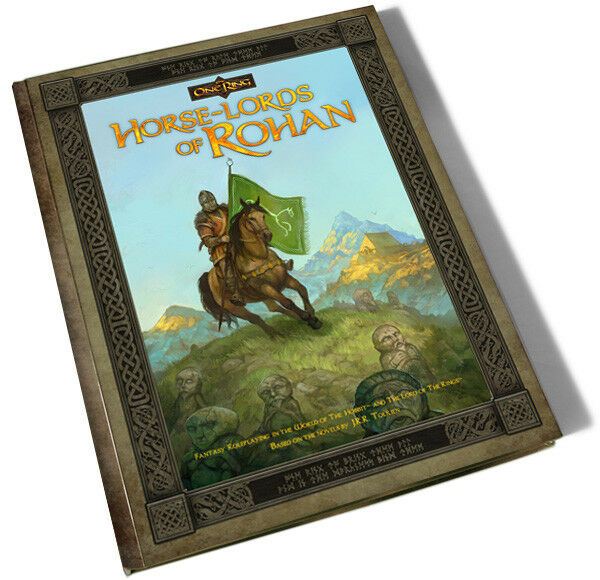 HORSE-LORDS OF ROHAN -  THE ONE RING ROLEPLAYING GAME - CUBICLE SEVEN