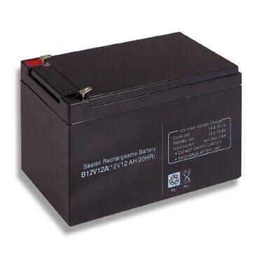 Batteria 12v 12a Piombo Gel Ermetica Allarmi Ups Elettronica 12ah Ricaricabile Valore Eccezionale
