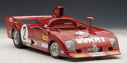 hermoso ALFA ROMEO 33TT 12 1000KM 1000KM 1000KM MONZA WINNER 1975 MERZARIO LAFITTE  2 AUTOart rojo 1   El nuevo outlet de marcas online.