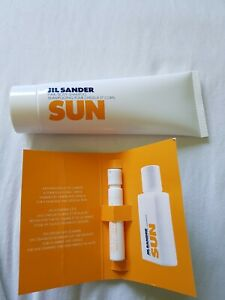 Jil Sander Sun 75ml Hair/Body Shampoo Eau de Toilette Probe 1,2 ml - Weyhe, Deutschland - Jil Sander Sun 75ml Hair/Body Shampoo Eau de Toilette Probe 1,2 ml - Weyhe, Deutschland