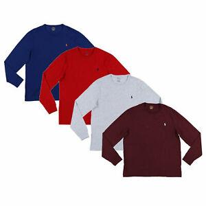 Polo-Ralph-Lauren-Mens-T-Shirt-Custom-Slim-Fit-Long-Sleeve-New-Prl-S-M-L-Xl-Xxl