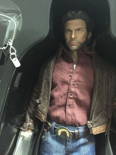 Custom hottoys 1//6  X Commander Jackman Wolverine  moveable collection toys