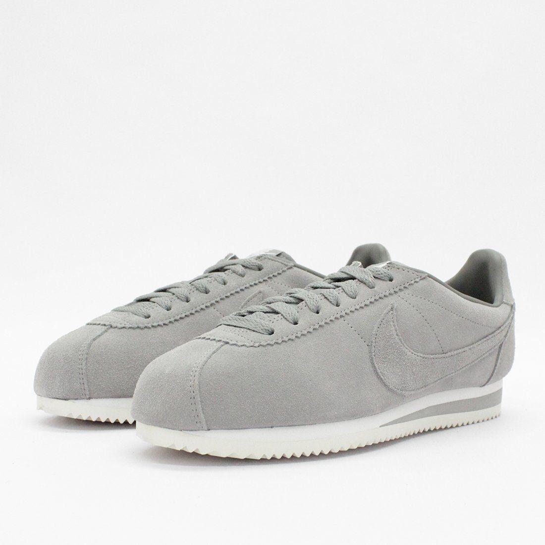 Nike classico cortez se grey formatori taglia 11 nuovi in scatola se