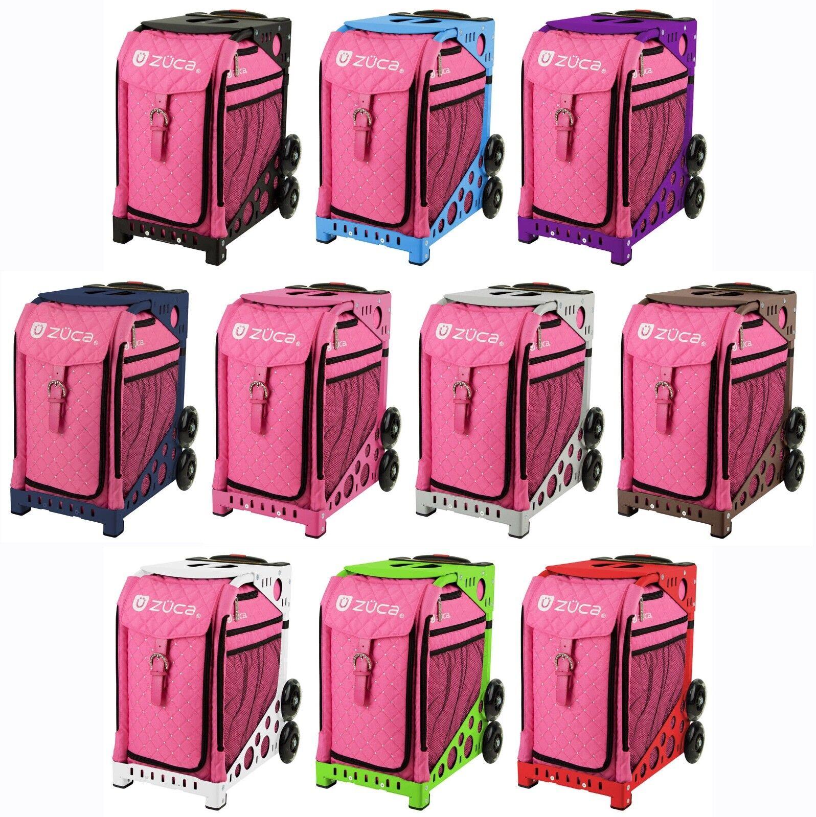 ZUCA Bag PINK HOT - Sports Frame & Insert Bag - FREE Seat Cushion
