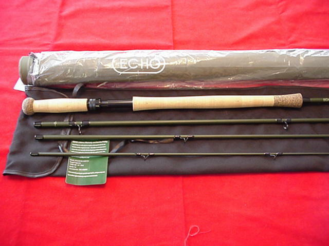 Echo TR Spey Fly Rod 13ft 6in  8 Line GREAT NEW