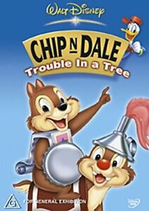 Chip-N-Dale-Trouble-in-a-Tree-NEW-DVD-Animated-Region-4-Australia