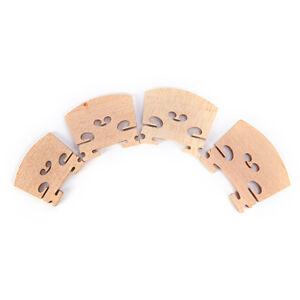 3x-1-4-1-2-3-4-4-4-musica-instrumento-violin-FIDDLE-puente-de-madera-de-mont-ws