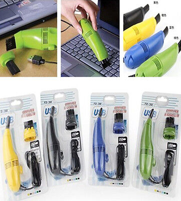 XIUK  Computer Vacuum Mini USB Keyboard Cleaner Laptop Brush Dust Cleaning Kit