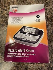 Radio-Shack-Hazard-Alert-Radio-SAME-Technology-12-262-NOAA-Weather