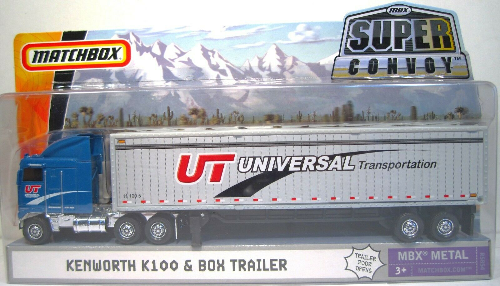 Matchbox Super Convoy Kenworth K100 & Box Trailer MBX Metal,  R5854