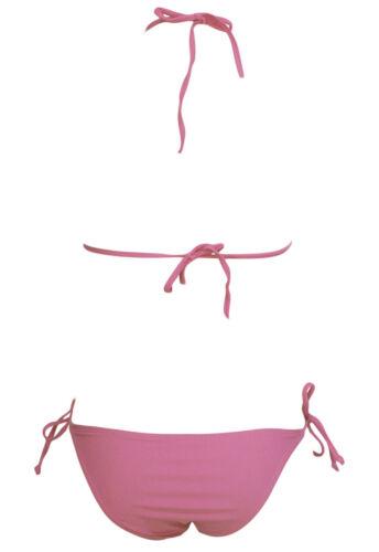 Costume Da Bagno Vita Bassa Bikini Mini string slim sling Swimwear Swimsuit L