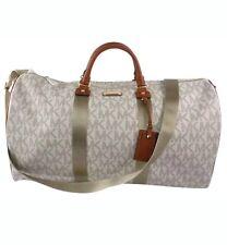 Michael Kors Signature Logo Vanilla X-large Travel Duffle Bag | eBay