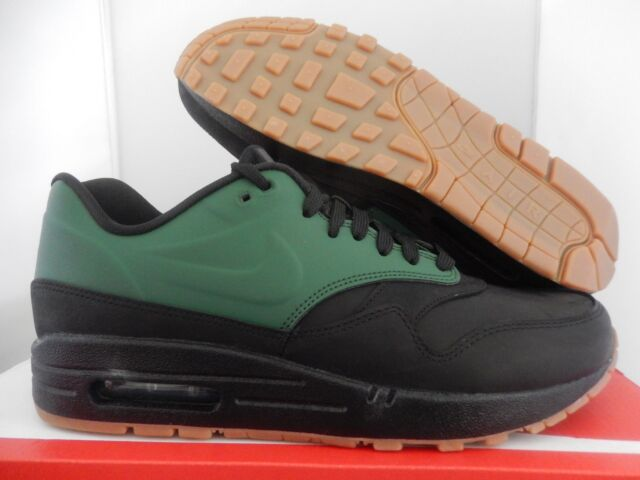 finest selection f7b20 857bf MENS NIKE AIR MAX 1 VT QS GORGE GREEN-BLACK-GUM BROWN SZ 7.5