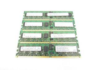 Lot-of-4-SUN-370-6208-01-1GB-1Rx4-PC2-5300P-667MHz-DDR2-ECC-Server-Memory