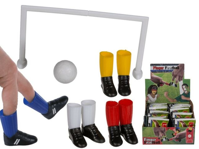 Finger Football Set 1 Ball 1 Goal 2 Shoes Game Kicker Ebay