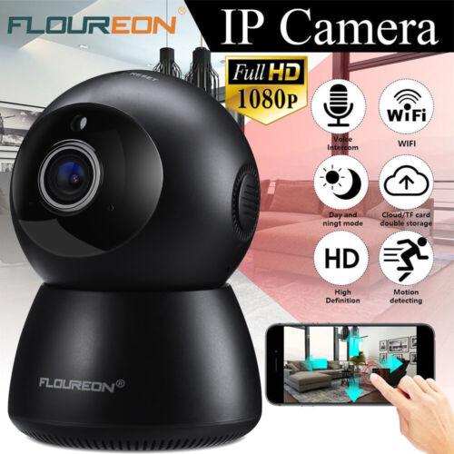1080P Wireless Wifi IP Camera CCTV Webcam Baby//Pet Monitor CAM Pan Tilt IR Night